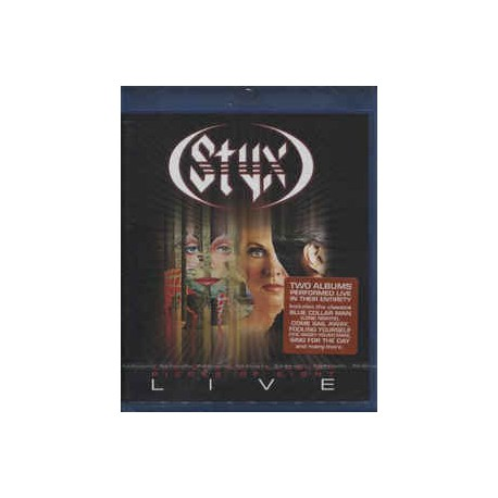 Styx – Grand Illusion Pieces Of Eight Live