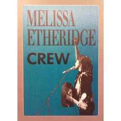 Melissa Etheridge - Backstage Pass.
