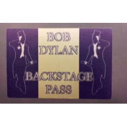 Bob Dylan - Backstage Pass.