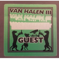 Van Halen - Backstage Pass.