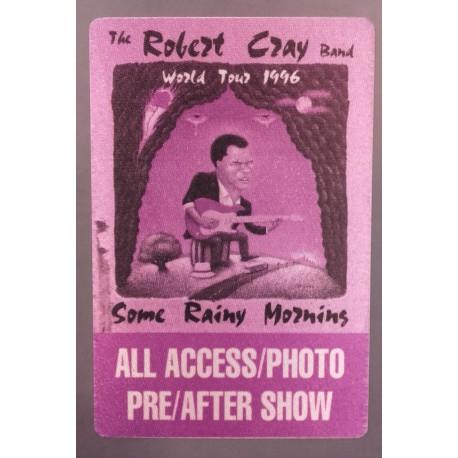 The Robert Cray Band - Backstage Pass.