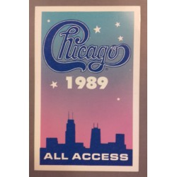 Chicago - Backstage Pass.