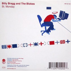 Billy Bragg And The Blokes ‎– England, Half English / St. Monday