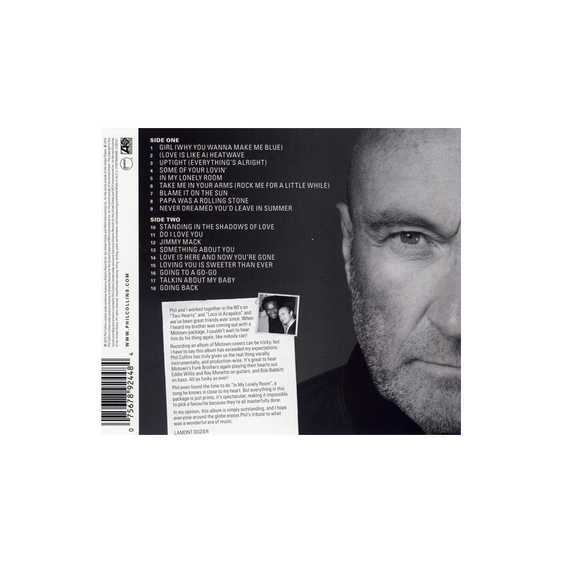 Phil Collins Going Back