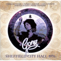 Gong  ‎– Sheffield City Hall 1976