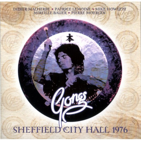 Gong  – Sheffield City Hall 1976