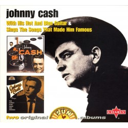 Johnny Cash ‎– With His Hot And Blue Guitar & Sings The Songs That Made Him Famous