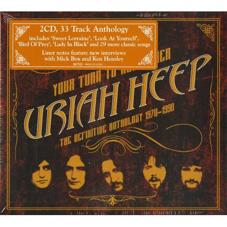 Uriah Heep – Your Turn To Remember - The Definitive Anthology 1970-1990