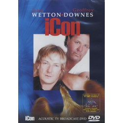 John Wetton ♦ Geoffrey Downes ‎– Icon - Acoustic TV Broadcast
