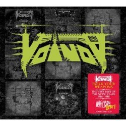 Voïvod ‎– Build Your Weapons The Very Best Of The Noise Years 1986-1988