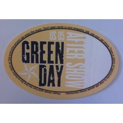 Green Day - Backstage Pass, US 05