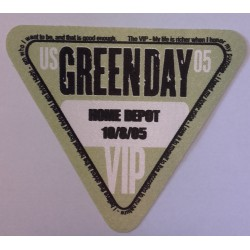 Green Day - Backstage Pass, US 05 - VIP