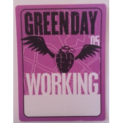 Green Day - Backstage Pass, US 05 - Working.