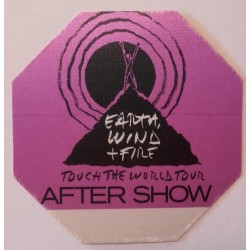 Earth, Wind & Fire, Touch the world tour, After show - Backstage Pass.