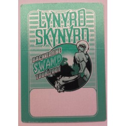 Lynyrd Skynyrd, Back to the swamp tour 2001 - Backstage Pass.