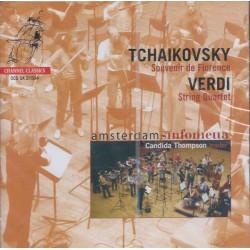 Tchaikovsky, Verdi, Amsterdam Sinfonietta, Candida Thompson – Souvenir De Florence / String Quartet (SACD)