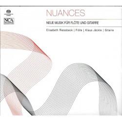 Elisabeth Riessbeck, Klaus Jäckle – Nuances - Neue Musik Für Flöte Und Gitarre