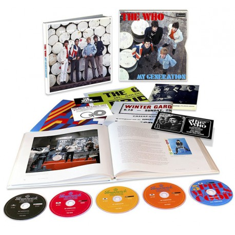 The Who - My Generation - 50Th Anniversary (Superdeluxe editie)