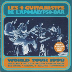 Les 4 Guitaristes De L'Apocalypso-Bar ‎– World Tour 1998