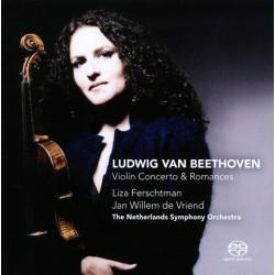 Ludwig Van Beethoven,Liza Ferschtman, Jan Willem de Vriend Liza Ferschtman - Violin Concerto & Romances
