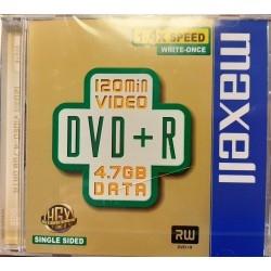 Maxell DVD+R 4,7Gb 4x
