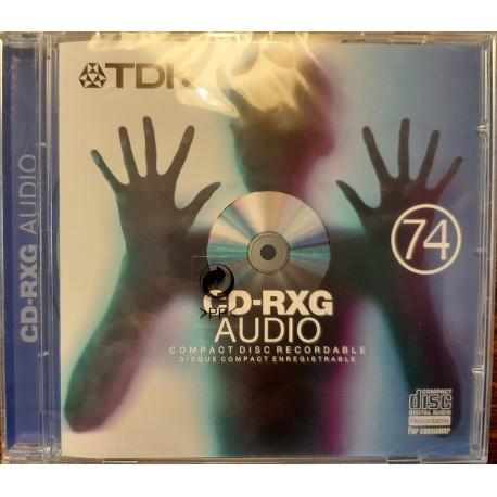 TDK CDRXG74 1 x CDR Audio 650 MB