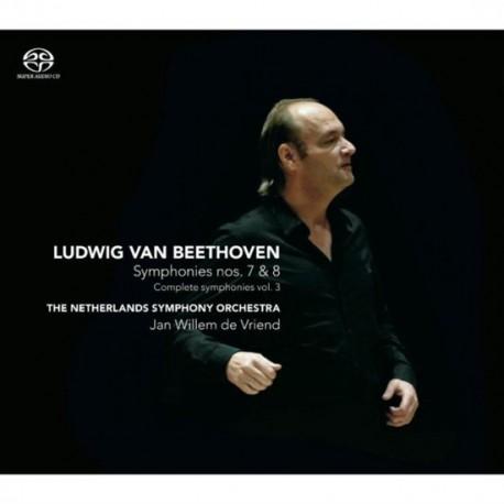 Jan Willem de Vriend - Symphonies Nos. 7 & 8 (Complete Symphonies Vol. 3)