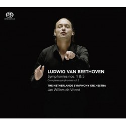 Jan Willem de Vriend - Symphonies Nos. 1 & 5 (Complete Symphonies Vol.2)