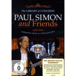 Paul Simon – Paul Simon And Friends: The Library of Congress Gershwin Prize for Popular Song