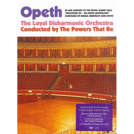 Opeth ‎– In Live Concert At The Royal Albert Hall