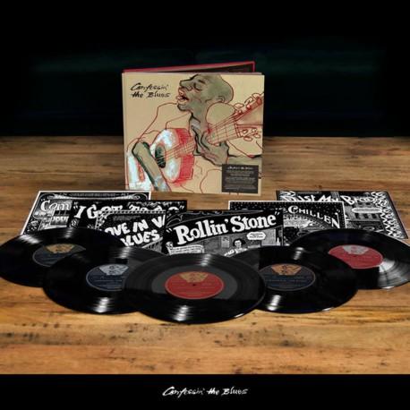 """Various - Confessin' The Blues (Boxset) (5x10"""" Vinyl bookpack)"""