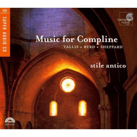 Tallis Byrd Sheppard - Music for Compline. (SACD).