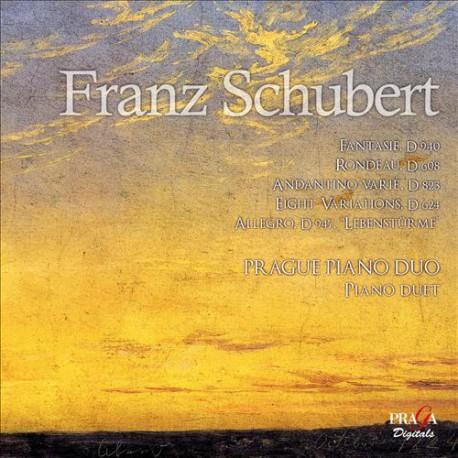 Franz Schubert, Prague Piano Duo – Works For Piano Duet (SACD)