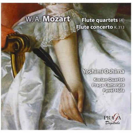 Wolfgang Amadeus Mozart - Flute Quartet Flute Concerto, Yoshimi Oshima. (SACD)