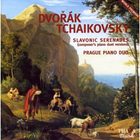 Dvorak Tchaikovsky, Prague Piano Duo - Slavonic Serenades. (SACD)