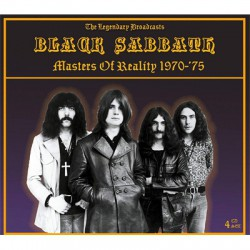 Black Sabbath – Masters Of Reality 1970-75 The Legendary Broadcasts