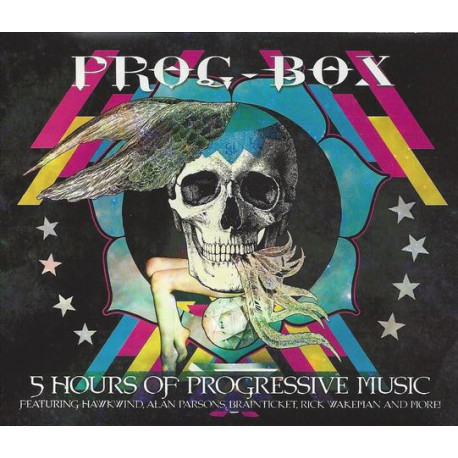More Images  Various – Prog-Box - 5 Hours of Progressive Music