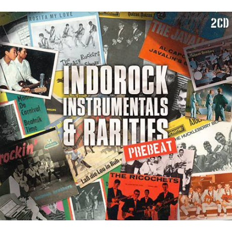Various – Indorock - Instrumentals & Rarities Prebeat
