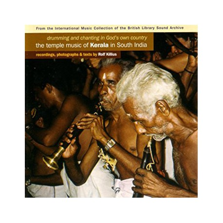 """Various – Drumming & Chanting In God's Own Country """"The Temple Music Of Kerala In South India"""""""