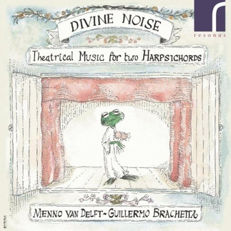 Divine Noise - Theatrical Music For Two Harpsichords