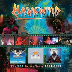 Hawkwind ‎– The RCA Active Years 1981-1982