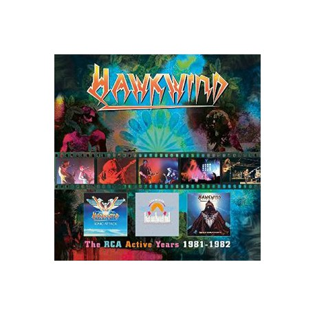 Hawkwind – The RCA Active Years 1981-1982