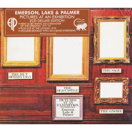 Emerson, Lake & Palmer – Pictures At An Exhibition