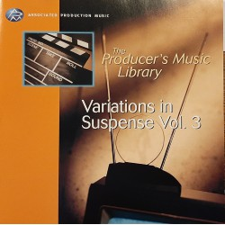 The producer's Music Library for Film & Television - Variations In Suspense Vol. 3