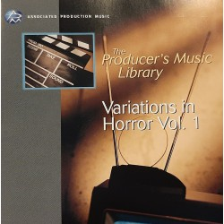 The producer's Music Library for Film & Television - Variations in Horror Vol.1