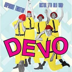 Devo – Orpheum Theater Boston, 17th July 1980