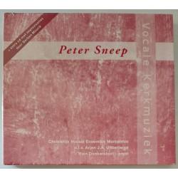 Peter Sneep - Vocale kerkmuziek