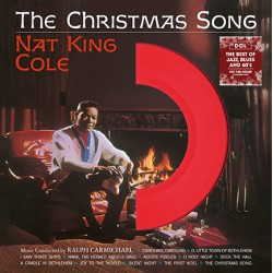 Nat King Cole ‎– The Christmas Song, (Red Vinyl)