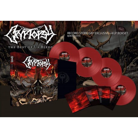 Cryptopsy - Best of Us Bleed (LP box)